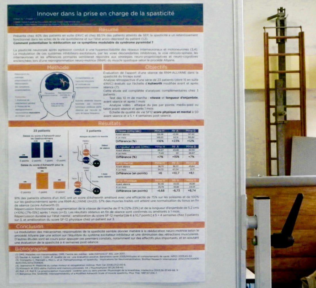 innover dans la prise en charge de la spasticité avec un procédé non invasif, Aude Friggeri, Anne-Laure Chatain, Allyane