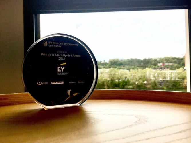 Start-Up de l'année 2019 EY